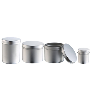 Alibaba China suppliers Recyclable Aluminum contain 200g aluminum Cream wholesale metal tin can