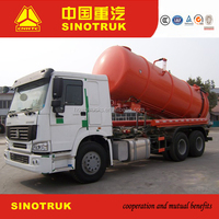 Cheap price ,howo 20000 Liters volume sewage suction tank truck