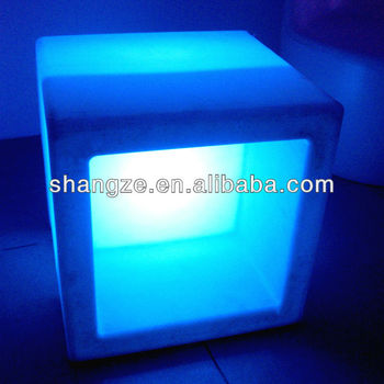 Square large led beer bucket SZ-G4040