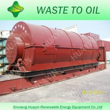 Full Automatic Used Tyre Pyrolysis Machine for Sale from Huayin Company