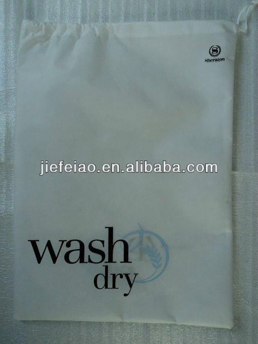 hotel disposable nonwoven cheap laundry bag