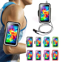 Factory price custom gym jogging running sport armband phone case for samsung galaxy s7/s6/s5