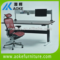 modern and ergonomic executive height adjustable table