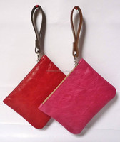 Genuine Leather Coin Holder/ Made In India Leather Coin Case/Coin purse