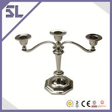 Candlestick Metal Lantern/Candle Holder Round Holder Long-stemmed Rotary Candle Holder Table Candlesticks