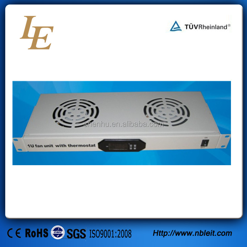 Cabinet Industrial Temperature Controller 2fans Thermostat