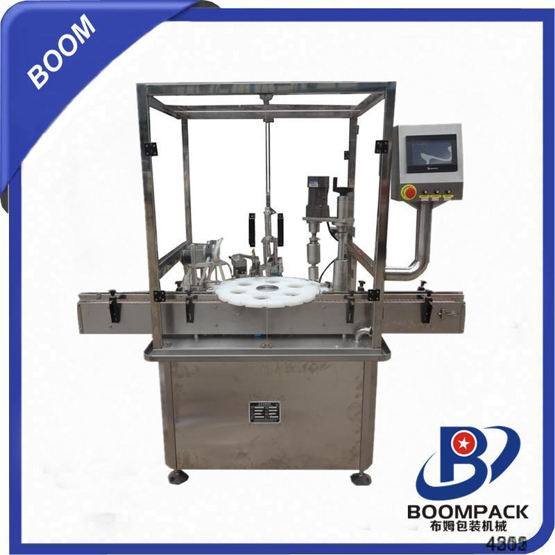 HT-shanghai hot sell smoke liquid filling inserting capping machine. alibaba china supplier