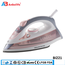 Anbo professioanl automatic self clean big water tank electric garment steam flat iron thermostat ceramic industrial steam iron