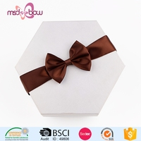 ribbon bow for gift wrapping box