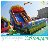 2015 Guangdong Inflatable Slides Inflatable Slide ,Air Bouncer Slide Inflatable Cartoon Toys For Sale