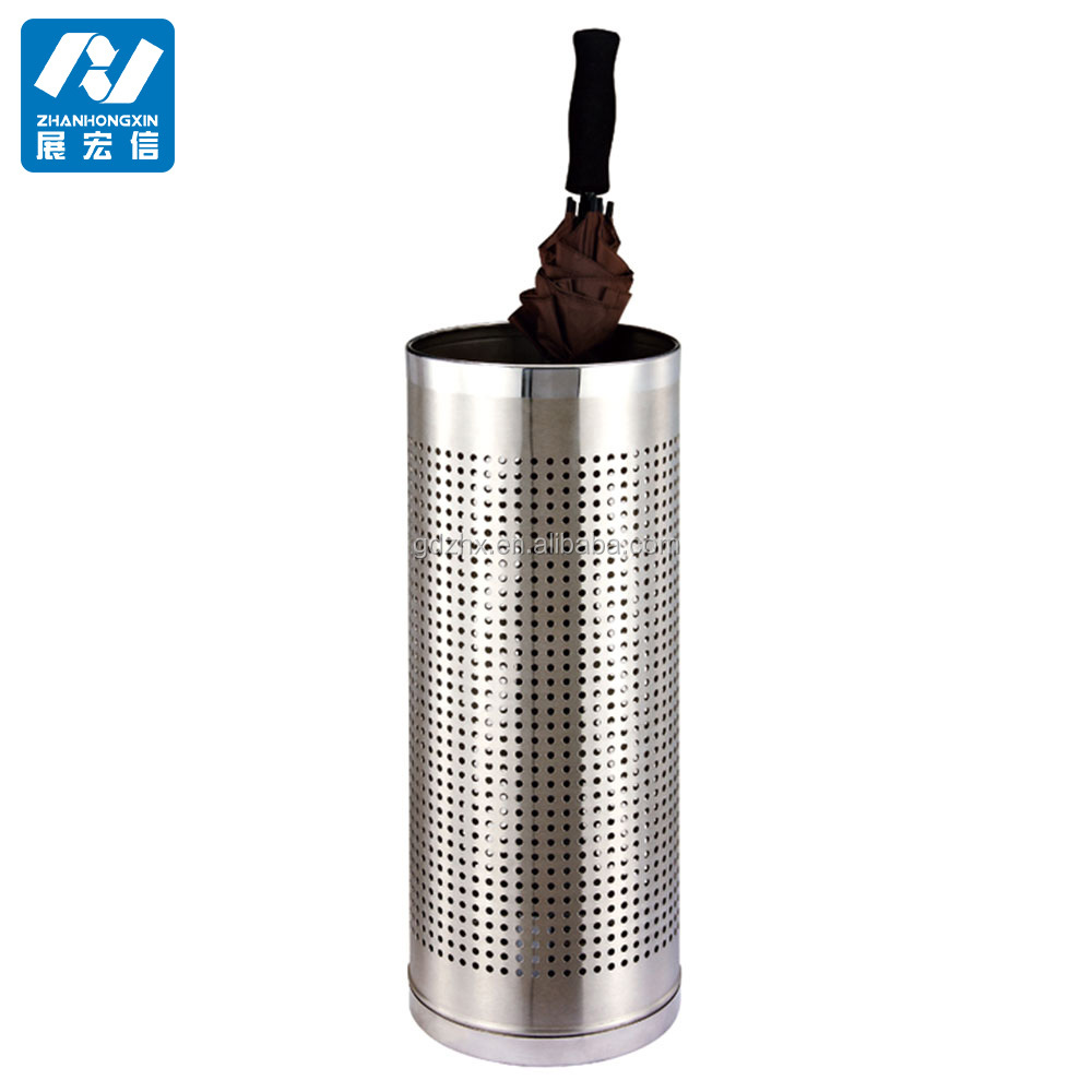 metal mesh wet umbrella holder,commercial umbrella rack/barrel