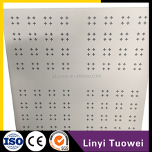 Discount Perforated plasterboard round holes