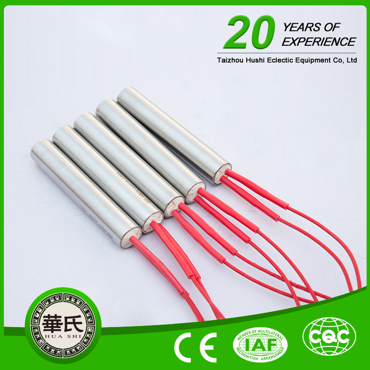 Electrical Solar Heating Element Injection Molding Machine Cartridge Tube Heater