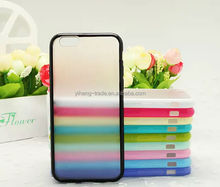 2014 New Design Slim 0.3mm Transparent Clear Soft Silicon TPU Crystal Clear Case Cover For iPhone6 10 Color