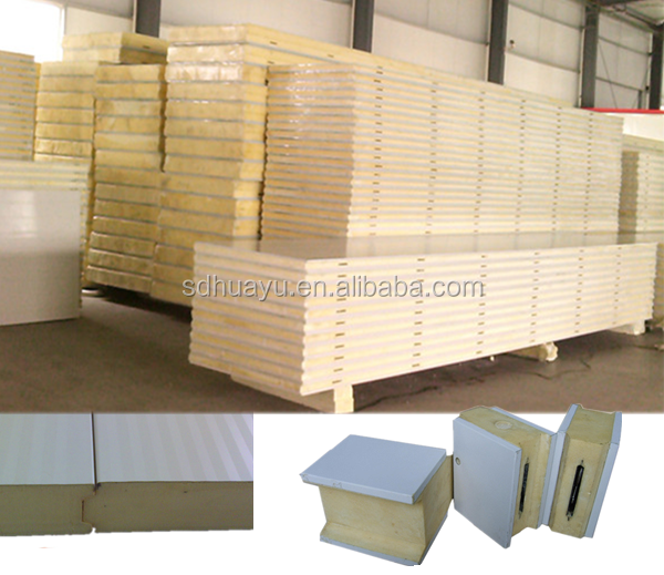 High Quality Polyurethane Sandwich Panels for Roof,Wall and Cold Storage