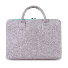 Guaranteed quality proper price wool felt fabric laptop bags for sale