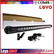 New 4D lens led offroad light bar high power 260w truck led lights for car suv 4x4 heavy machine