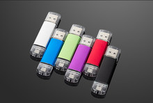 Full Capacity custom Style 16g otg usb pendrive With your logo otg usb flash drive