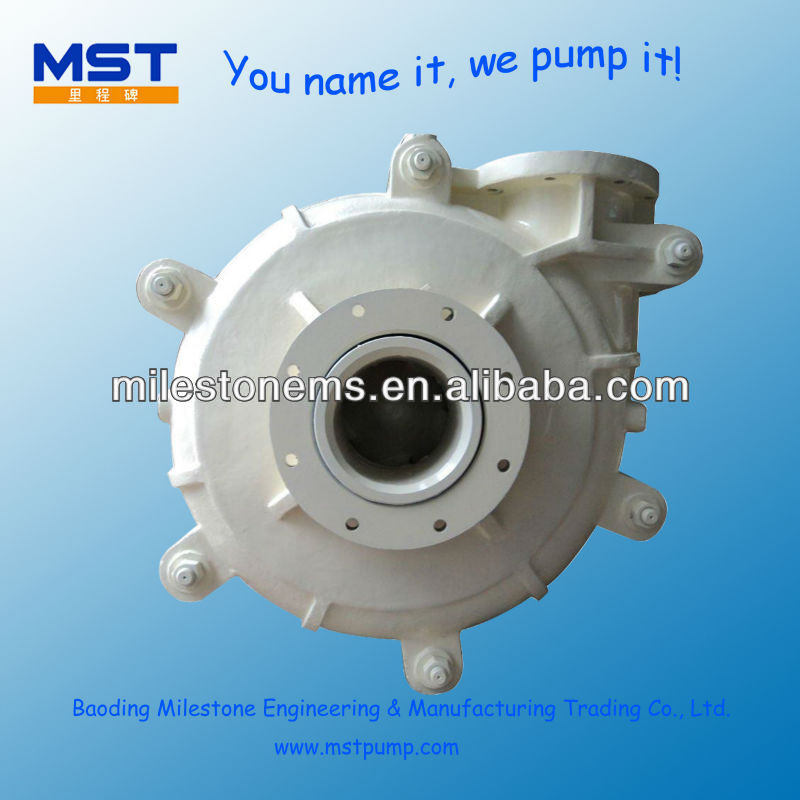 Slurry Centrifugal Sand water pump distributor