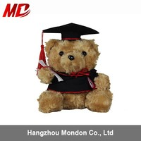 Handmade Soft Bear Graduation Souvenirs for School