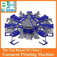 Manufacture of manual 4 color silk screen printing machines