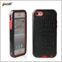2013 hot silicon+pc for iphone 5C case