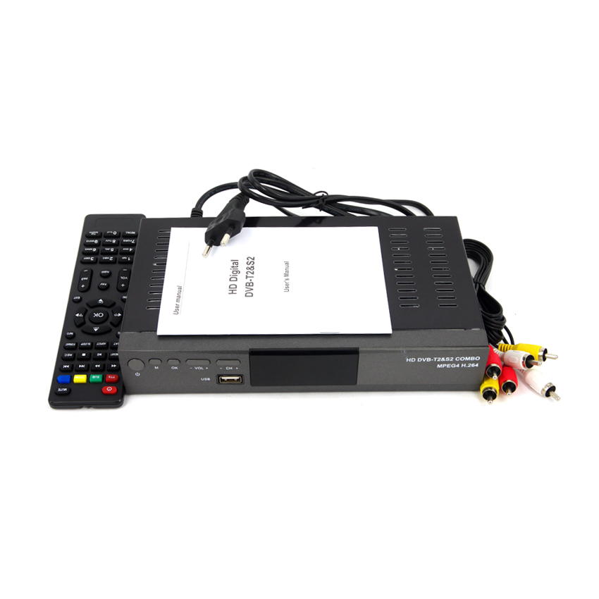 SYTA Africa Full HD DVB T2+S2 combo digital satellite receiver h.264 combo decoder with powervu