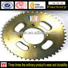 High performance cg125 motorcycle sprocket, 2015 best motorcycle chain sprocket price