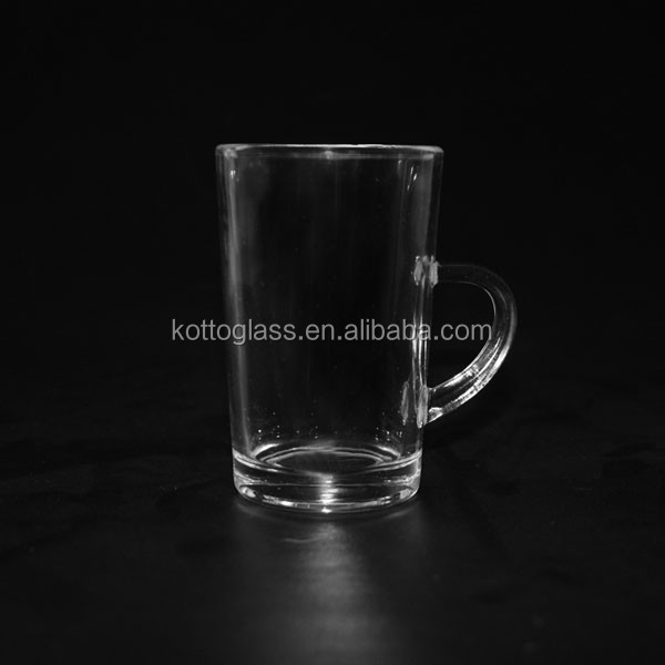 110ml turkish style tea glass cup with handle