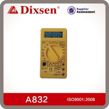 Handheld digital analog multimeter
