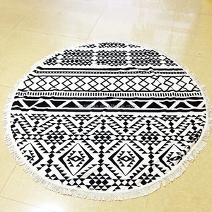 Summer 2016 new product round beach towels mandala with tassels Mandala Hippie Tapestry microfiber beach towel