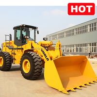 Wheel Loader used in the concrete factory