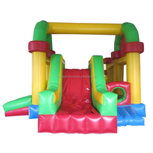 Optional color Inflatable outdoor playground slide air playground