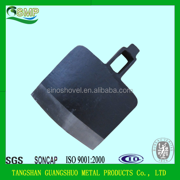 high quality railway steel farming hoe head