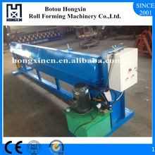 Hebei CE Certificated Electrical Colored Steel Metal Cold Roofing Panel Shearing Machine Supplier