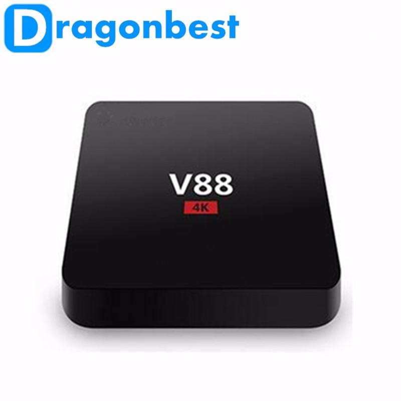 Hot Selling Android TV Box Internet TV Set top Box V88 RK3229 Android 5.1