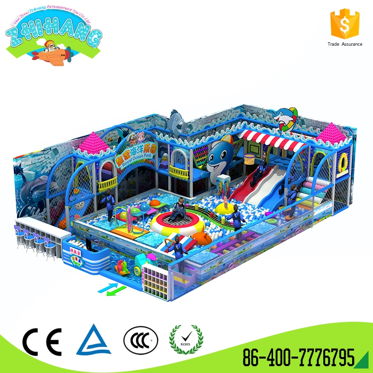 Hot funny combined toys commercial playground equipment
