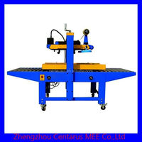 High efficiency adhesive tape sealing plant with date printer with lowest price