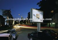 Double sided advertising scrolling billboard