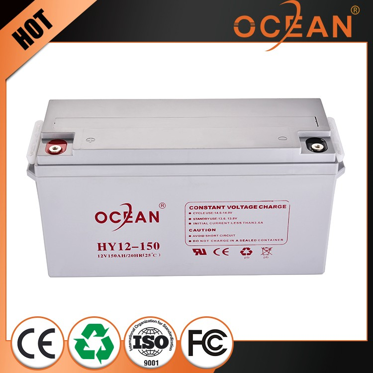Factory wholesale price professional design 12V 150ah reliable quality battery ups
