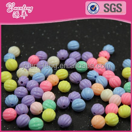 china bead manufacturers baby jewelry DIY beads accessories colorful wholesale custom plastic beads for jewelry making