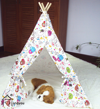wooden material cheap dog beds,outdoor dog tent dog