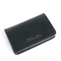 Cow leather nature leather Business card holder/BUSINESS card case