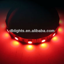red color nowaterproof led strip 60 leds per meter