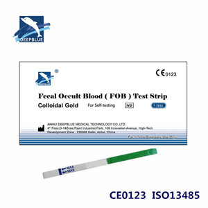 Rapid Diagnostic one-step Fecal Occult Blood Test Strip Kit FOB rapid test