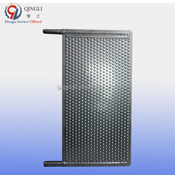304 stainless steel immersed liquid plate heat exchanger for tank or pool