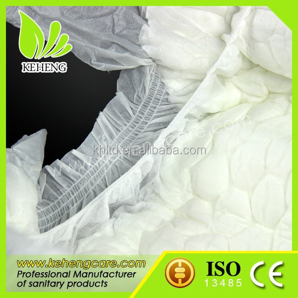 daily use adult diaper with leakguards for nursing home in bulk