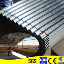 Promotional long span zinc coated corrugated roofing sheet