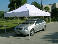 3x4.5m heavy duty aluminium waterproof folding tent car cover