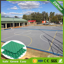 PP Material Outdoor Floor Covering Sports Court Flooring Ties